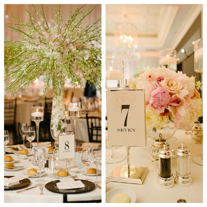 Suisui.David.Waldorf Astoria. Pen Carlson Photography. Sweetchic Events. Vale of Enna. White and Pink Dendrobium Orchid Centerpiece. White and Pink Peony Centerpiece