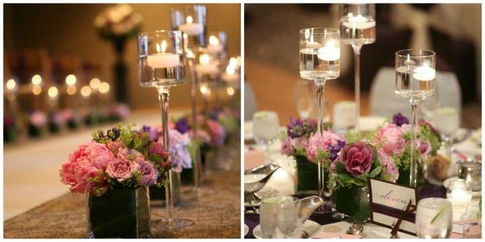 Photos by  Brian Kinyon ; Florals by  Vale of Enna