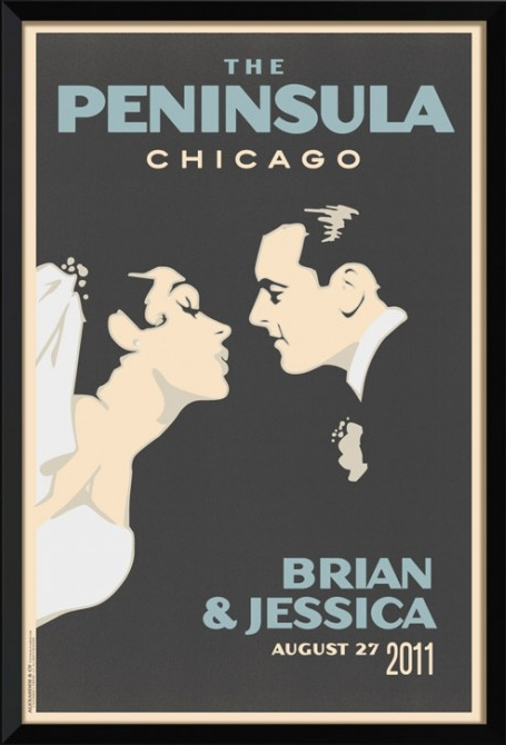 vintage-wedding-posters-Alexander and Co Chicago