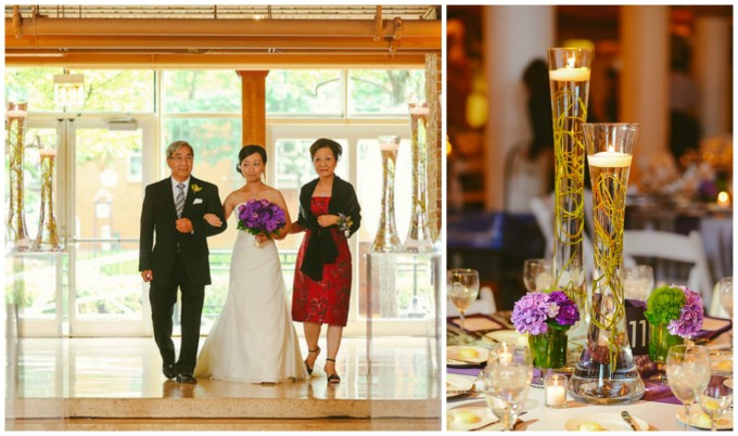 Photos by  Fragola Productions  | Floral by  Flower Firm  See the rest of Boris & Karen's wedding at the River East Arts Center  here,  here  and  here !