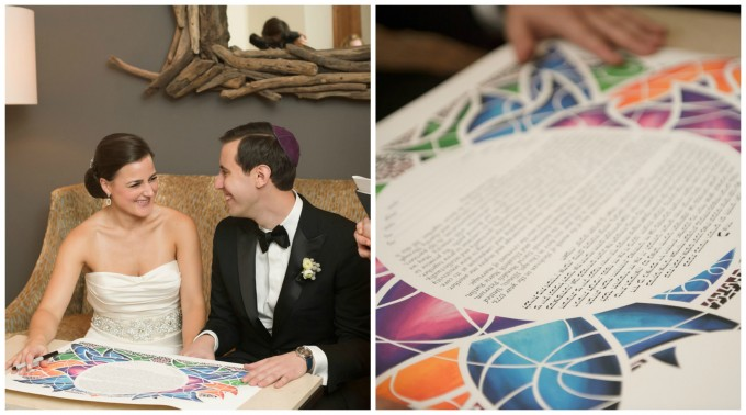 Sweetchic Events. Averyhouse. Ketubah Signing.