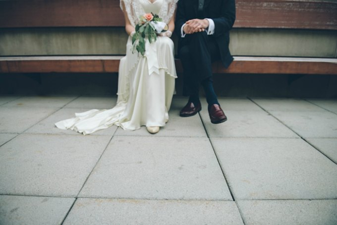 Ida Noyes Theater Wedding. Rose Tinted Lens Photography. Sweetchic Events. (2)