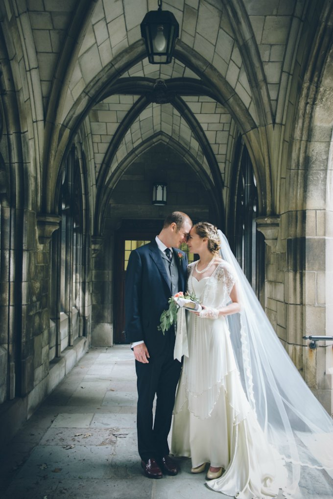 Ida Noyes Theater Wedding. Rose Tinted Lens Photography. Sweetchic Events. Bride and Groom inside Bond Chapel (2)
