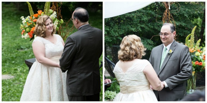 31. Keith House Wedding. Historic Home Wedding. The Way We Click. Sweetchic Events. bride and groom. ceremony