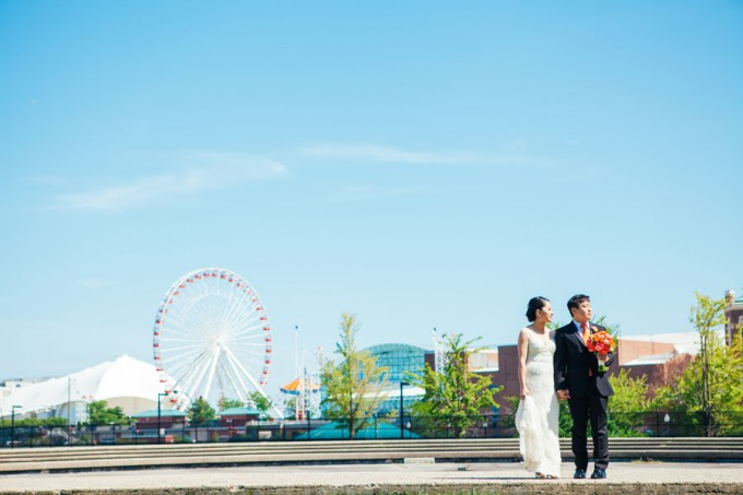 18. Room 1520 Wedding. Sweetchic Events. Studio Finch. Navy Pier. Chicago Wedding. Summer.