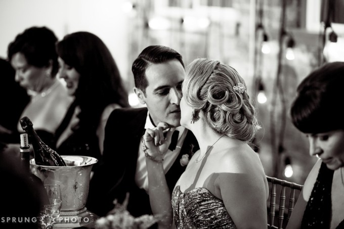 27. Art Deco Wedding. Kitchen Chicago. Victoria Sprung Photography. Sweetchic Events.