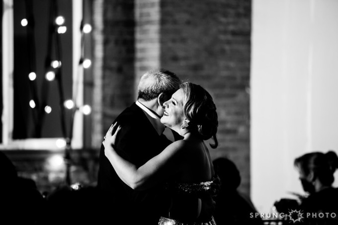 32. Art Deco Wedding. Kitchen Chicago. Victoria Sprung Photography. Sweetchic Events. Father Daughter Dance.