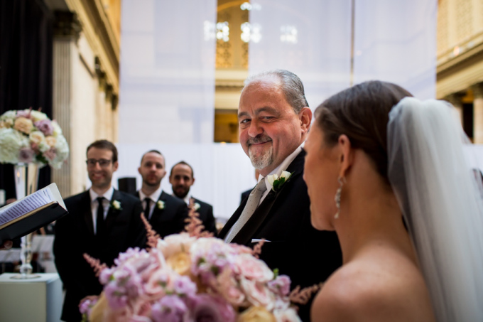 26. Union Station Wedding. Steve Koo Photography. Sweetchic Events. Father and Bride.
