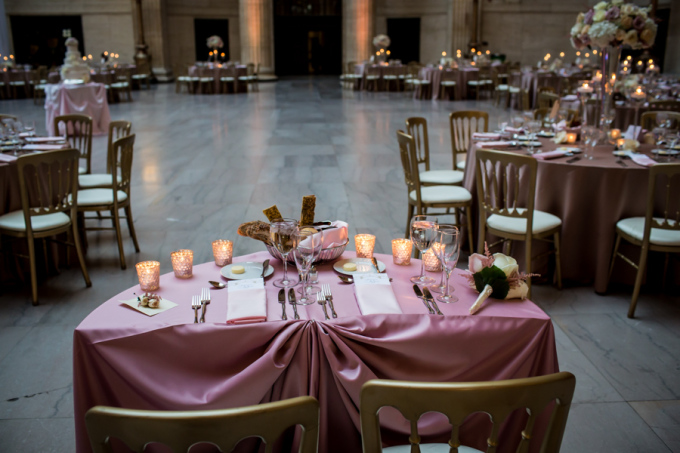 32. Union Station Wedding. Steve Koo Photography. Sweetchic Events. Flower Firm. Sweetheart Table. Blush, Gold, Ivory Wedding. Classic Glamour