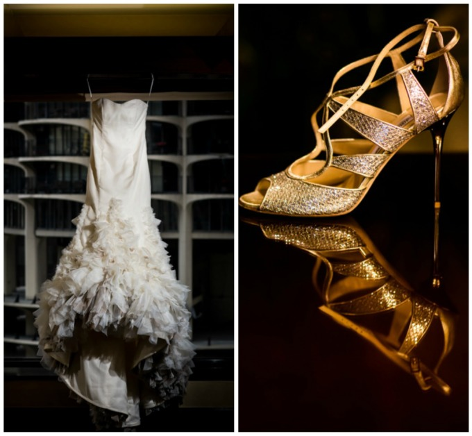 4. Union Station Wedding. Steve Koo Photography. Sweetchic Events. Wedding Dress. Wedding Shoes. Glamourous. Regal. Old Hollywood.