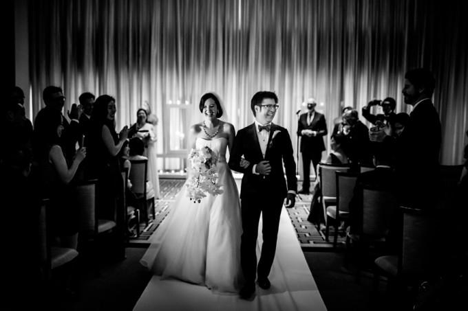 21. Langham Chicago Wedding. Steve Koo Photography. Sweetchic Events. Ceremony.