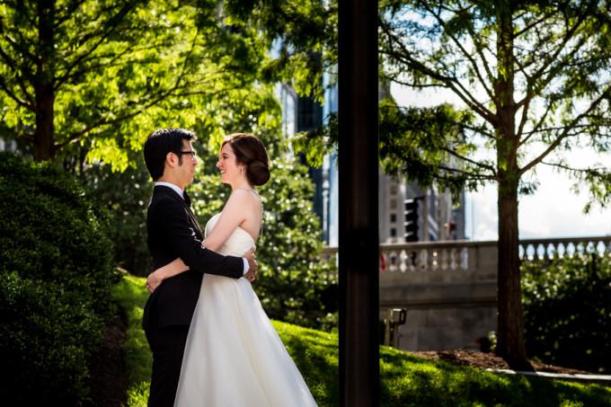 13. Langham Chicago Wedding. Steve Koo Photography. Sweetchic Events. Chicago Riverwalk