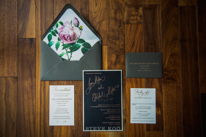 2-langham-wedding-steve-koo-photography-sweetchic-events-vale-of-enna-moody-romantic-wedding-magnificent-milestones-floral-invitations-black-rose-gold