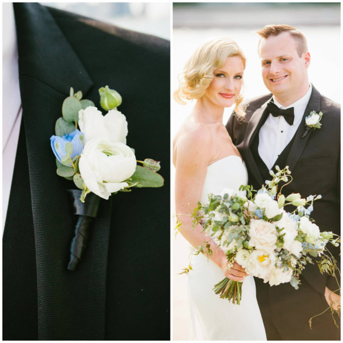 23-blackstone-chicago-wedding-pen-carlson-sweetchic-events-vale-of-enna-bride-and-groom-romantic-boutonnierre-ranunculus-bouqut-peony-jasmine-vine