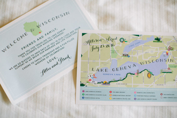 3-lake-geneva-country-club-wedding-lisa-mathewson-photography-sweetchic-events-lake-geneva-map-welcome-bags