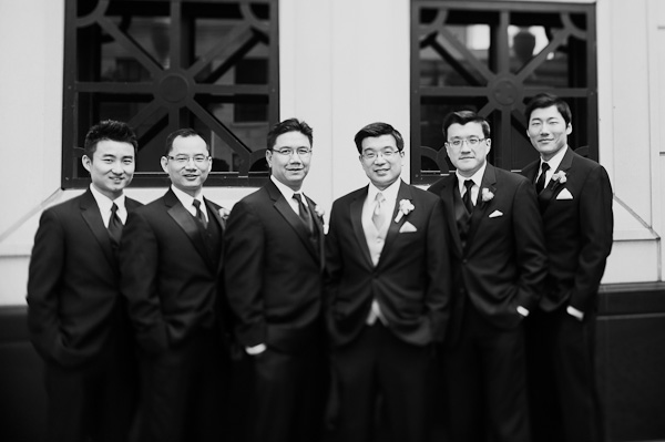 21. Suisui.David.Waldorf Astoria. Pen Carlson Photography. Sweetchic Events. Groomsmen waiting outside the Waldorf Astoria