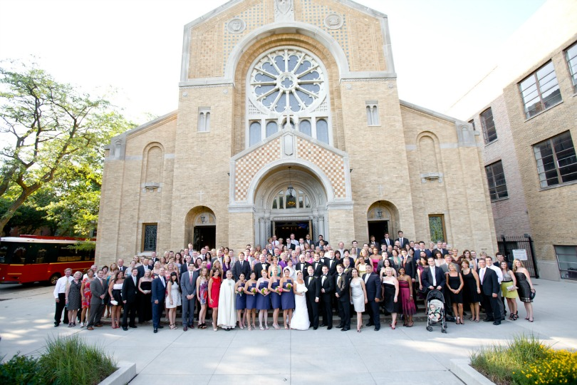 25 Chicago History Museum Wedding Dennis Lee Photo Sweetchic Events group picture