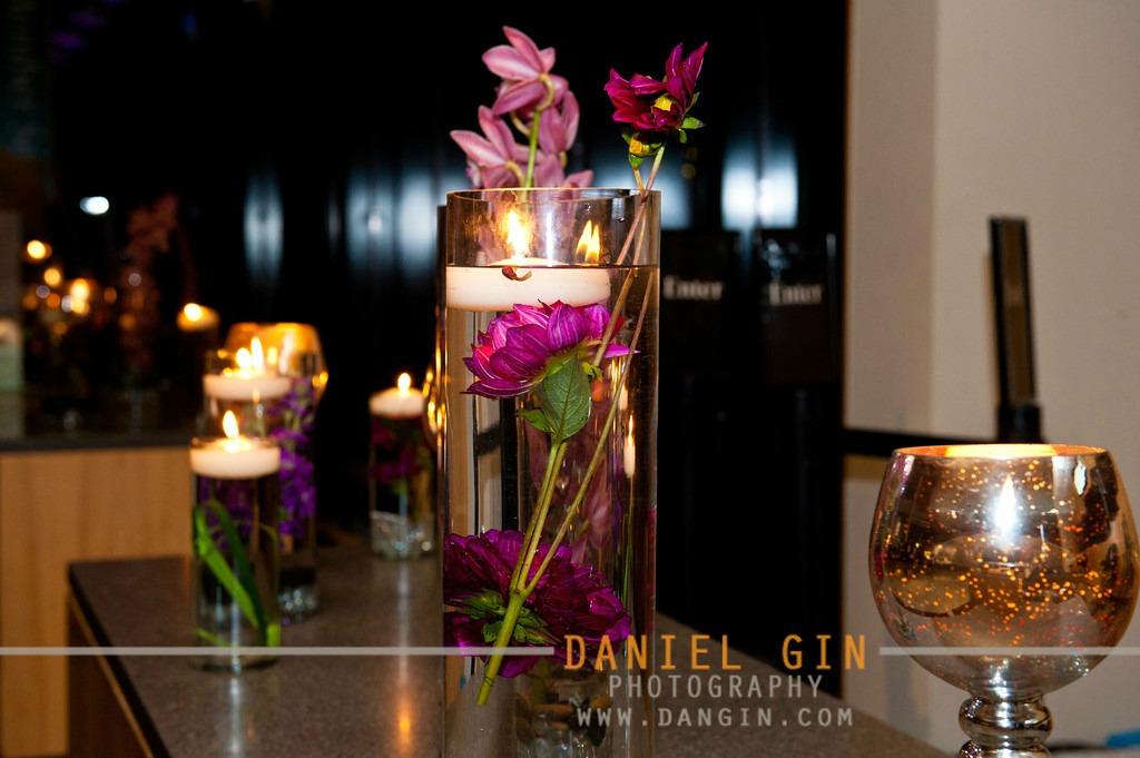 25 Morton Arboretum wedding Dan Gin photography Sweetchic Events submerged arrangements mercury glass