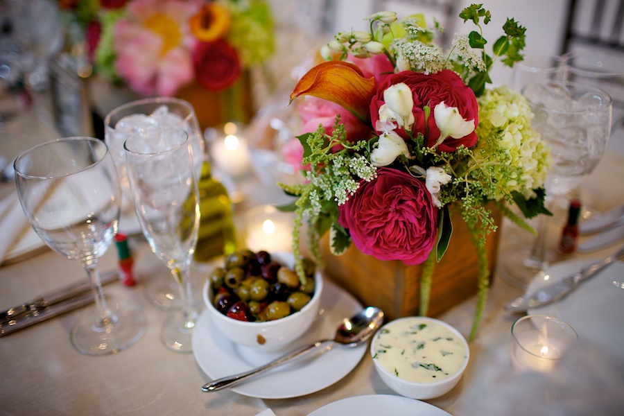 25. Sara.Iain. Douglas Dawnson Gallery.Steve Koo Photography  Sweetchic Events.   Vale of Enna. Pink Garden Roses, Coral Peonies, Green Trick, Green Hanging Amaranthus