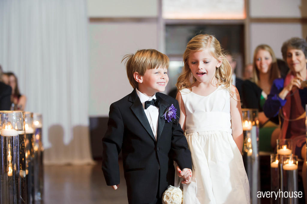 25. The Ivy Room. Avery House. Sweetchic Events. Flower Girl and Ring Bearer.
