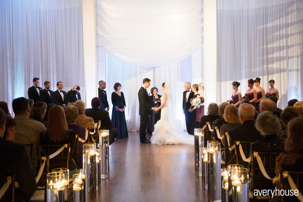 27. The Ivy Room. Avery House. Sweetchic Events. Flower Firm. Ceremony. White Modern Chuppah