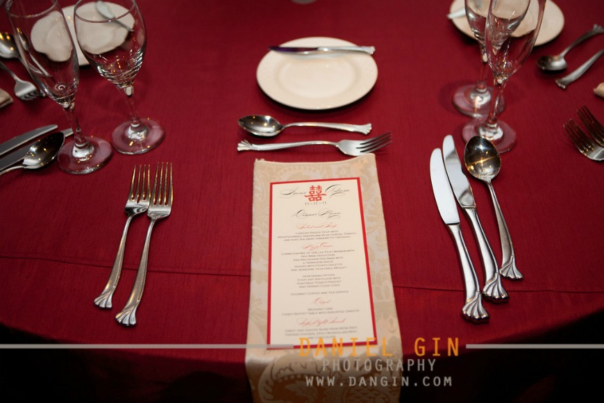 3 Morton Arboretum wedding Dan Gin photography Sweetchic Events Spilled ink menu