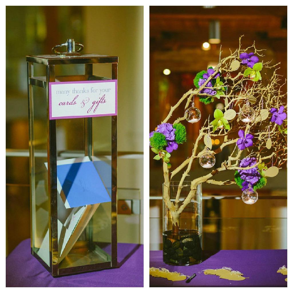 3. Karen.Boris.River East Art Center. Fragola Productions. Sweetchic Events. Flower Firm. Card Box. Manzania Wish Tree.
