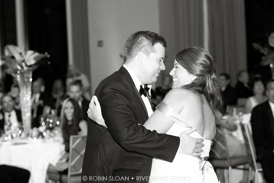 32 Jen.Aaron Trump Towers Ballroom Chicago Wedding Robin Sloan Riverbend Studio Sweetchic Events
