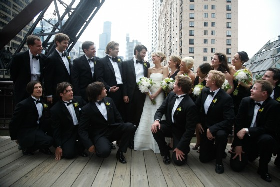 5 Sweetchic Brian Kinyon chicago Rookery wedding Kinzie Street Bridge