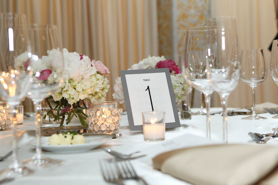 53. Leslie.James.RookeryWedding. Kenny Kim Photography. Sweetchic Events. Fleur. Centerpieces. Table Numbers.