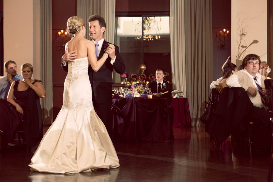 54. Alicia & Kris. Newberry Library Wedding. iLuvPhoto. Sweetchic Events. Father Daughter Dance