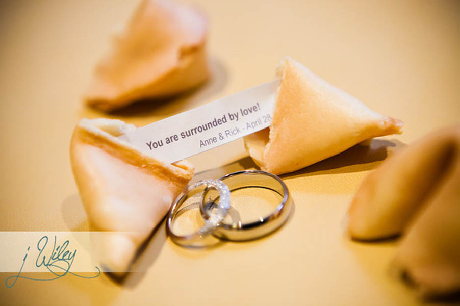 7. Anne.Rick The Rookery. J Wiley Photography. Sweetchic Events. Rings and Fortune Cookie