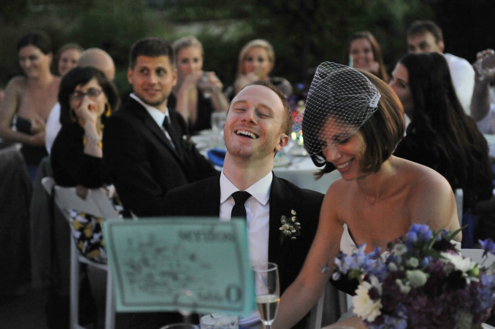 8 Garfield Park Conservatory Wedding Sweetchic Peter Coombs toasts