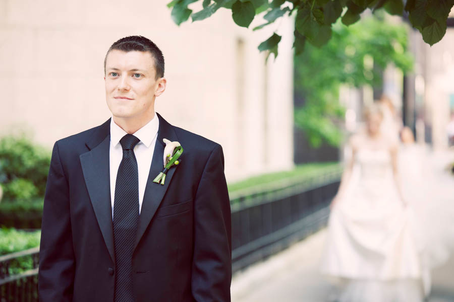 9. Alicia & Kris. Newberry Library Wedding. iLuvPhoto. Sweetchic Events. First Look