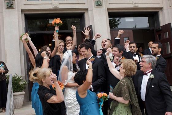 Holy Innocents Church Chicago wedding ceremony 4