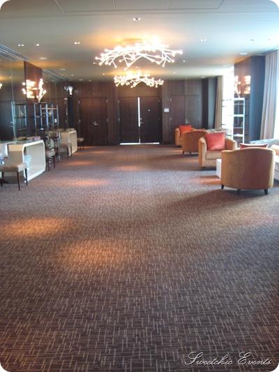 Hotel Palomar Chicago prefunction space