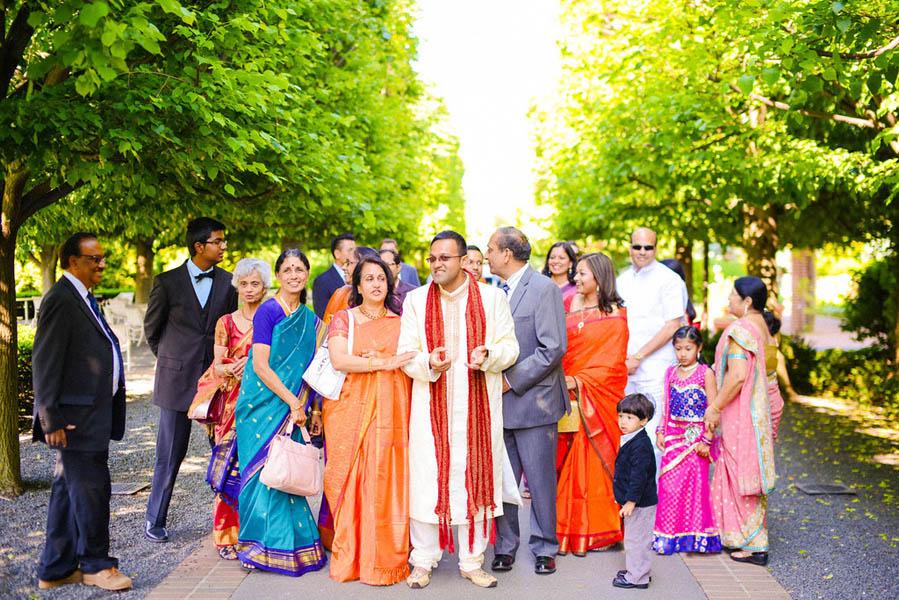 Indian Wedding. Botanic Gardens Wedding. Fragola Productions. Sweetchic Events. Barat Entrance