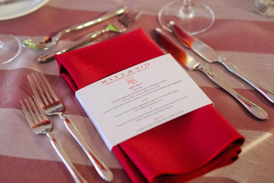 Indian Wedding. Botanic Gardens Wedding. Fragola Productions. Sweetchic Events. Belly Band Menu.