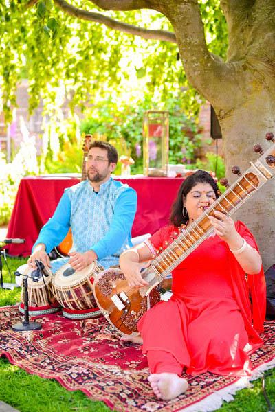 Indian Wedding. Botanic Gardens Wedding. Fragola Productions. Sweetchic Events. Sumkali. Ceremony Musicians.