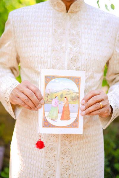 Indian Wedding. Maya & Sid. Botanic Gardens Wedding. Fragola Productions. Sweetchic Events. Ceremony Program.