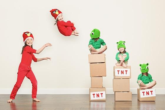 Kristen Kayla Angry Birds pic