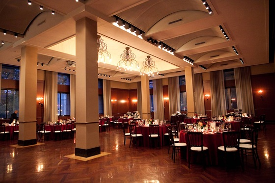 Newberry Library Ruggles Hall wedding reception 1 Secondprint productions