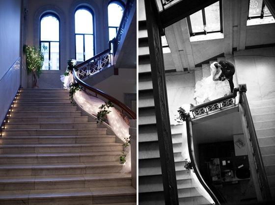 Newberry Library foyer stairwell