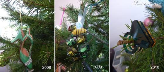 Weddingbee emerald xmas ornaments
