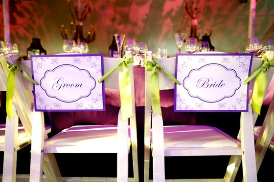 bride groom signs at head table steve koo sweetchic