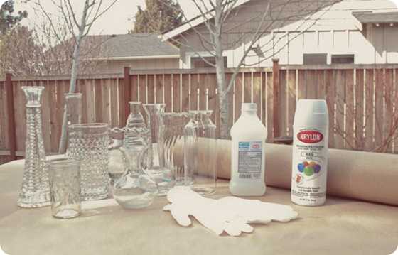 diy-spray-paint-milkglass-centerpieces