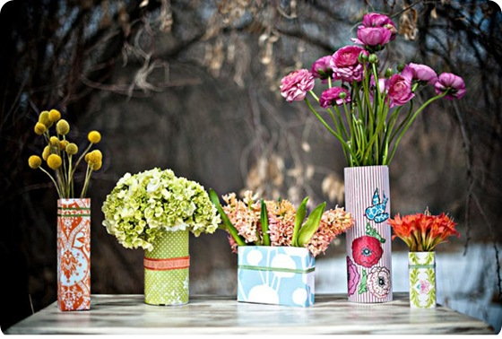 diy-tin-can-vases-centerpieces-idea1