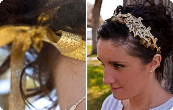 diy-vintage-appliqué-lace-headband2