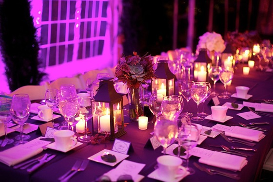 galleria marchetti wedding purple uplighting gobo head table sweetchic steve koo