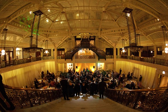 rookery building wedding chicago dean thorsen photograhy 9